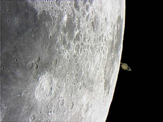 Occultation de Saturne